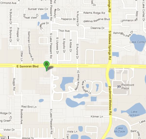 Apopka Dental Art Map And Directions - Map sites for directions